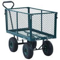 vidaXL Tuinwagen 350 kg groen