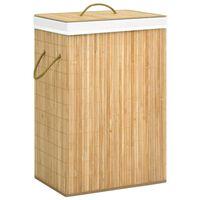 vidaXL Wasmand 72 L bamboe