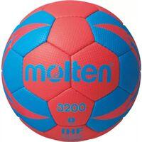 Molten handbal 3200 rood/blauw maat 3
