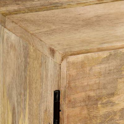 vidaXL Tv-meubel 145x30x41 cm massief mangohout