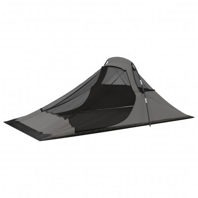 vidaXL Tent 317x240x100 cm oranje en grijs