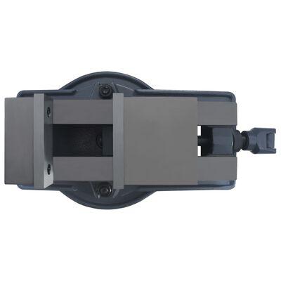 vidaXL Bankschroef draaibaar 85 mm gietijzer