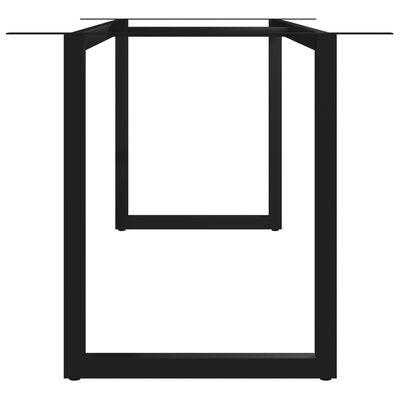 vidaXL Eettafelpoot O-frame 200x80x72 cm