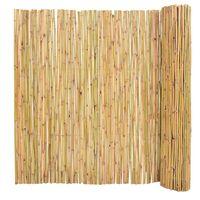 vidaXL Scherm 300x150 cm bamboe