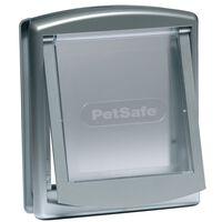 PetSafe Huisdierenluik in 2 richtingen 737 small 17,8 x 15,2 cm zilver 5019