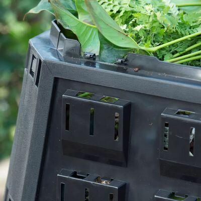 Nature Compostbak zwart 1200 L