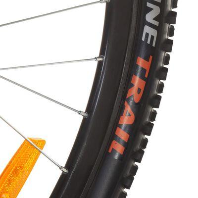 vidaXL Mountainbike 21 versnellingen 29 inch wielen 53 cm frame zwart