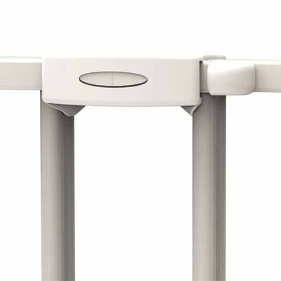 Noma Traphekje verlengbaar 62-102 cm metaal wit 93361