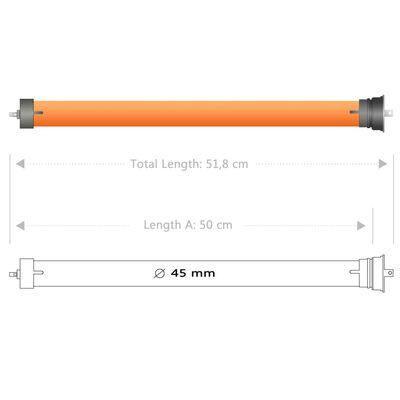 vidaXL Buismotoren 2 st 30 Nm