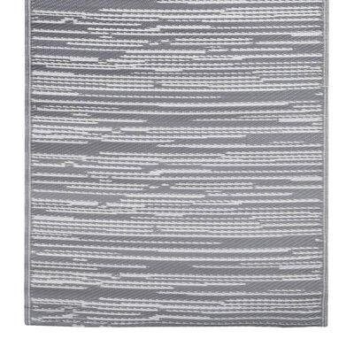 vidaXL Buitenkleed 160x230 cm PP grijs