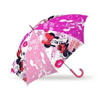 Kinderparaplu Minnie Mouse Junior 46 Cm Polyester Roze
