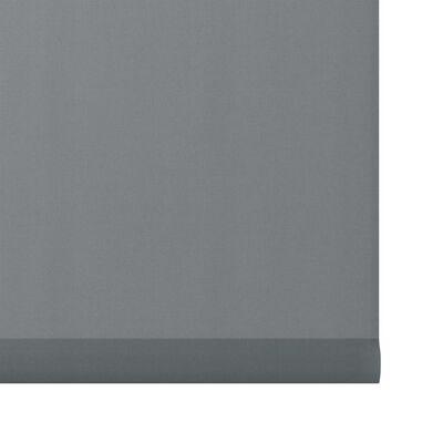 Decosol Mini-rolgordijn lichtdoorlatend 37x160 cm effen antraciet