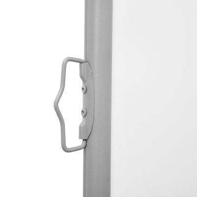 vidaXL Windscherm uittrekbaar 160x600 cm crème