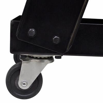 Lasgereedschap wagen 3 planken zwart