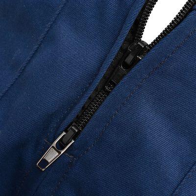 vidaXL Kinderoverall met mouwen maat 146/152 blauw