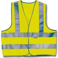4-Act Veiligheidshesje 3 Strepen Unisex Geel Maat L