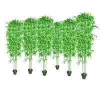 Bamboe kunstboom set van 6