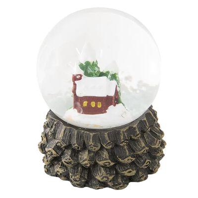 Sneeuwbol | Ø 5*6 cm | Multi | Polyresin / glas | rond | kerk | Clayre