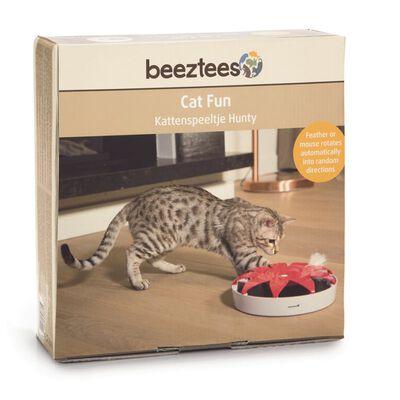 Beeztees Kattenspeelgoed Hunty 24,5x5 cm roze en wit 440636