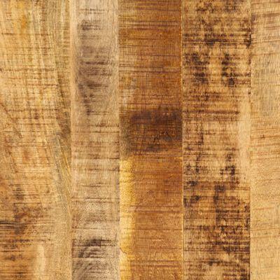 vidaXL Eettafel 220x100x75 cm massief mangohout