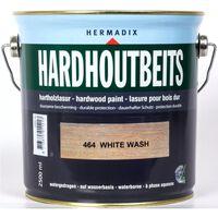 Hardhoutbeits 464 white wash 2500 ml