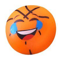 Toi-Toys squishy klevende basketbal oranje 6,5 cm
