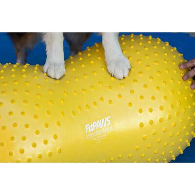FitPAWS Dierenbalansplatform Trax Peanut 40 cm geel