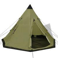 vidaXL Tent 4-persoons groen