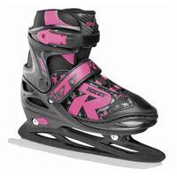 Roces ijshockeyschaatsen Jokey Ice 2.0 meisjes zwart maat 38-41