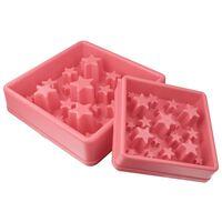 EAT SLOW LE LONGER Slowfeeder Star L roze