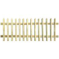 vidaXL Hek 170x100 cm 5/7 cm geïmpregneerd grenenhout