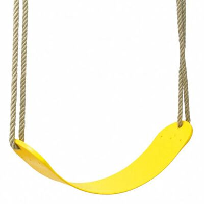 Swing King schommelzitje flex (geel)