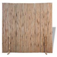 vidaXL Scherm 180x170 cm bamboe