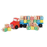 Melissa & Doug alfabet-truck 30-delig