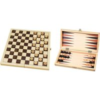 Buffalo Dam- en Backgammonset 29 x 14,5 x 4,5 cm