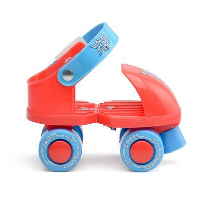 Xootz rolschaatsen Infant Trainer junior rood/blauw maat 23/27