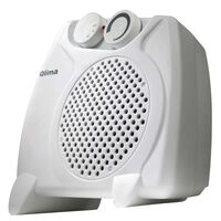 Qlima Elektrische ventilatorkachel 2000 W wit EFH2010